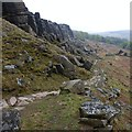 SK2384 : A descent from Stanage Edge by Graham Hogg