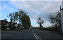 SP4775 : Crossroads on Rugby Road, Long Lawford by David Howard