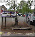 SO5219 : Queen Victoria Golden Jubilee tap, Llangrove, Herefordshire by Jaggery