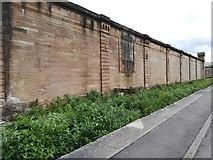 NS2875 : Sidings at Greenock Central railway station by Thomas Nugent
