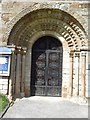 SP1566 : Norman style arch by Philip Halling