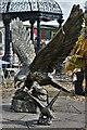 SJ3327 : British Ironwork Centre: Eagles by Michael Garlick