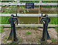 SO9263 : Sidepond paddle gear by Hanbury Top Lock in Worcestershire by Roger  Kidd