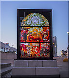 J3474 : Game of Thrones window two, Belfast by Rossographer