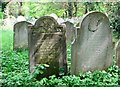 TG2408 : The grave of Robert F Miller by Evelyn Simak