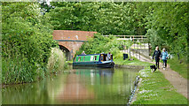 SO9262 : Droitwich Junction Canal near Hanbury in Worcestershire by Roger  Kidd