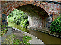 SO9262 : Westfields Bridge at Hanbury Junction in Worcestershire by Roger  Kidd