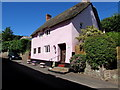 SS9646 : Pink cottage, Church Street, Minehead by Jaggery