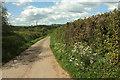 SS5720 : Lane to Sherwood Green by Derek Harper