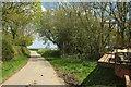 SS5721 : Lane near North Heale by Derek Harper