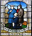 TF5002 : Detail of the Great War Memorial window by Adrian S Pye