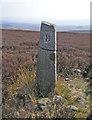 SE1052 : Mended boundary stone by John Illingworth