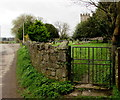 ST2682 : St Mary's churchyard entrance gate, Marshfield by Jaggery