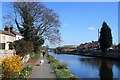"""SE5023 : Goole and Knottingley canal and """"Freda's Garden"""" by derek dye"""