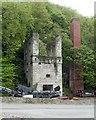 SJ1967 : Hendre Lead Mine engine house by Alan Murray-Rust