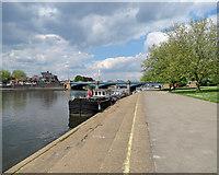 SK5838 : West Bridgford: towards Trent Bridge by John Sutton