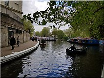 TQ2681 : Boats at Little Venice by DS Pugh