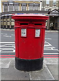 TQ3282 : Double aperture Victorian postbox on City Road. London EC1 by JThomas