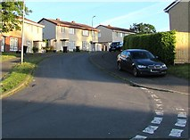 ST3090 : Up Rutherford Hill, Malpas, Newport by Jaggery