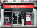 SU9698 : Santander Bank Branch in Amersham by David Hillas