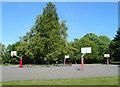 TQ2279 : Basketball Court, Ravenscourt Park by Des Blenkinsopp