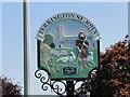 TF5314 : Terrington St. John village sign (detail) by Adrian S Pye