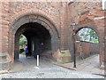 NY3955 : Entrance to the cathedral precinct, Carlisle by Rudi Winter