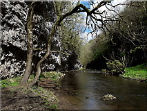 SK1272 : Chee Dale: a spectacular stretch of the Wye by Chris Downer