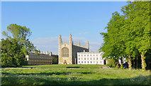 TL4458 : King's College from Queen's Road, Cambridge by Julian Paren