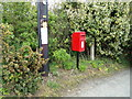 TM5077 : Mount Pleasant Postbox by Adrian Cable