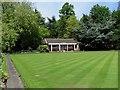 SK5805 : Abbey Park Bowls Club by Ian Calderwood