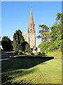 SD5137 : St Lawrence's Church, Barton by David Dixon