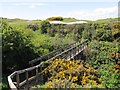 NO5415 : Bridge on Fife Coast Path near St Andrews by Becky Williamson