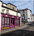 SO2508 : Purple frontage, 39 Broad Street, Blaenavon by Jaggery