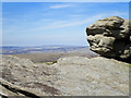 SK0789 : Gritstone Rock by Stephen Burton