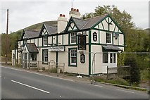 SJ0970 : The Downing Arms (closed), Bodfari by Mark Anderson