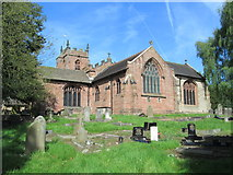 SJ7744 : All Saints' Church, Madeley by David Weston