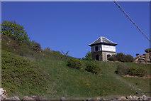 TA0390 : North Bay miniature railway signal box by Robert Eva