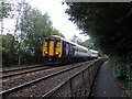 NY4754 : Train approaching Wetheral by Rudi Winter