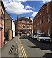 SP2864 : North on New Street, Warwick by Robin Stott