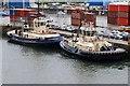 SU4210 : Svitzer Alma and Eston in Southampton by Andrew Abbott