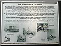 TL2371 : The Sebastapol Cannon information board, Brampton Road, Huntingdon by Richard Humphrey