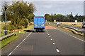NO4957 : Traffic Camera on the A90 near Finavon by David Dixon