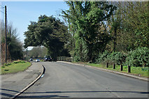 TQ5571 : Bridge over River Darent, Darenth by Robin Webster