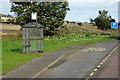 NO5459 : Northbound A90, Careston Road End Bus Stop by David Dixon