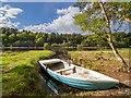 NH9258 : Boat dock on Loch Loy by valenta