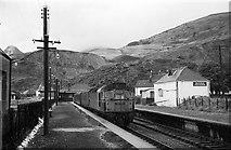 NN0858 : Ballachulish Station, 1965 by Alan Murray-Rust