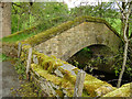 SE0237 : Aqueduct alongside Lord Bridge by Stephen Craven