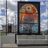 J3575 : Game Of Thrones window six, Belfast by Rossographer