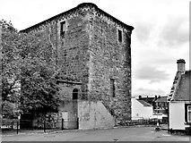 NS5036 : Barr Castle - Galston by Raibeart MacAoidh
